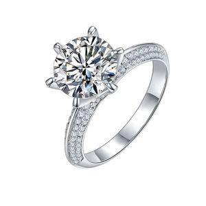 Stunning Moissanite Engagement Ring  S5